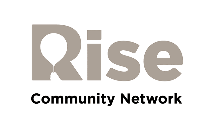 Rise Community Network logo