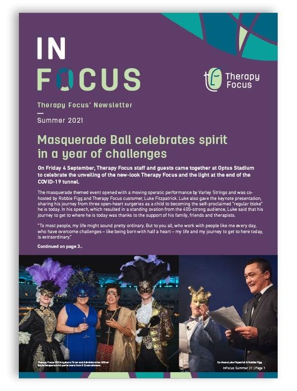 InFocus newsletter cover